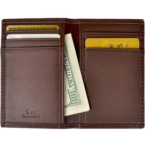 Royce Leather RFID Blocking Men's Slim Card Case Wallet in Genuine Leather