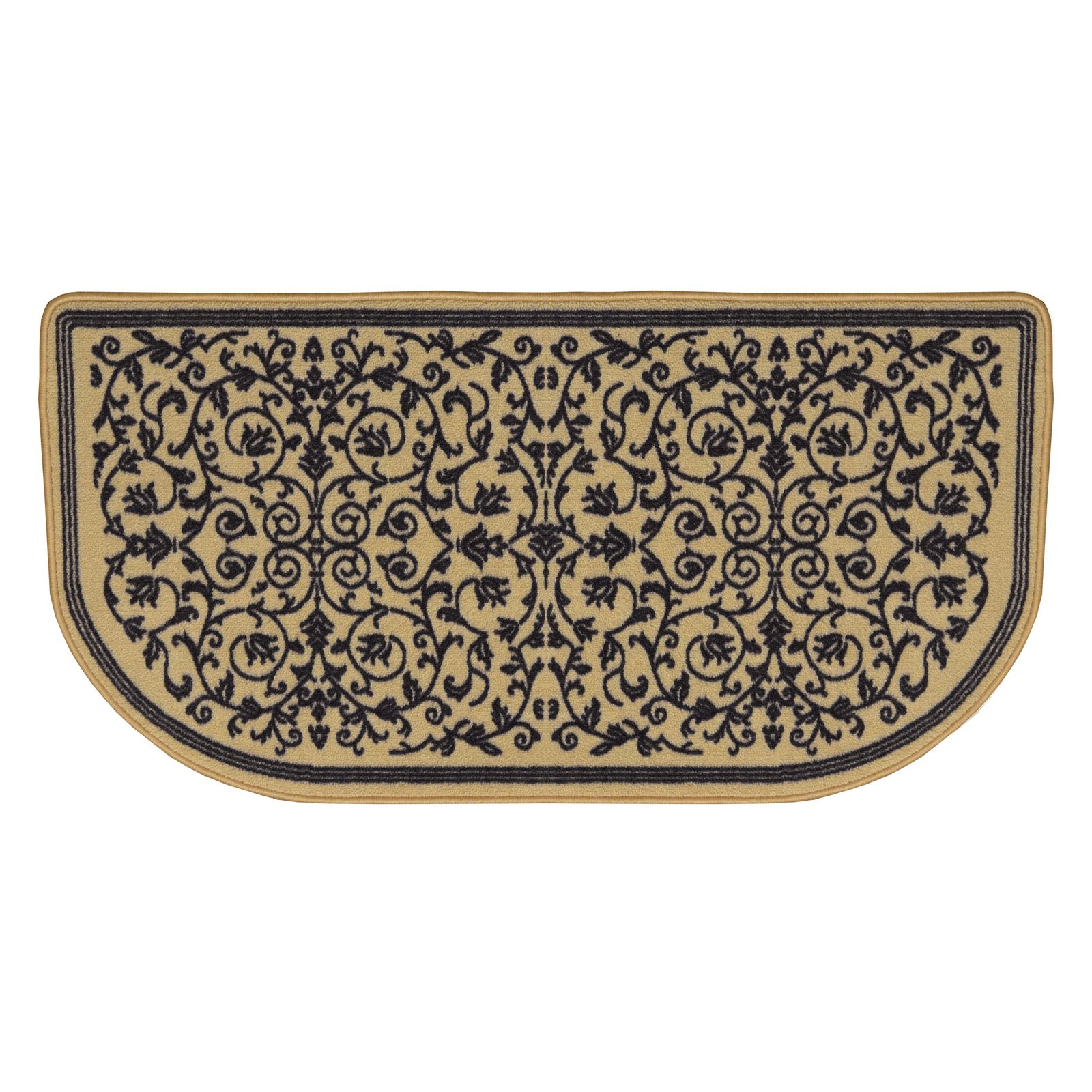 Uniflame Nylon Hearth Rug - Scrollwork