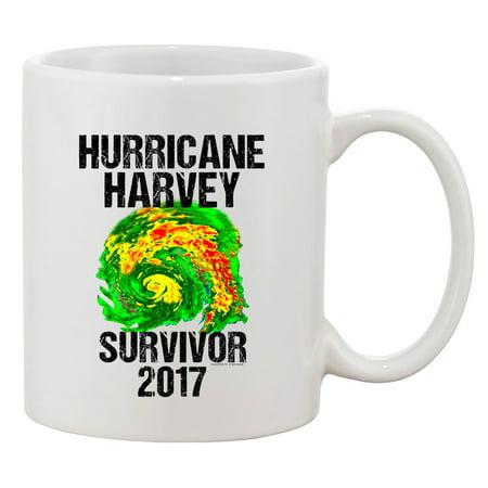 - Hurricane Harvey Storm Survivor Houston Texas 2017 DT Coffee 11 Oz White Mug