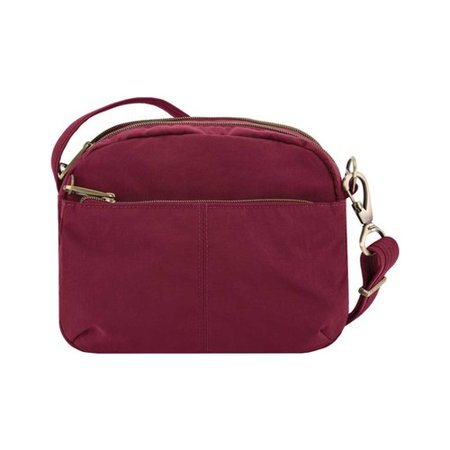 Travelon Anti-Theft Signature East/West Shoulder Bag  9