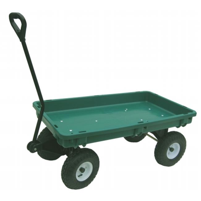 Millside Industries 3548 38 in. X 20 in. Poly Garden Wagon