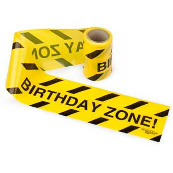 Warning Tape Streamers (each) - Party Supplies](Streamers Party)