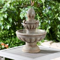 """Better Homes & Gardens 22"""" Dauphine Two-Tier Water Fountain"""
