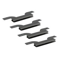 Brinkmann 810-2545-W Gas Grill Burner Carryover Crossover Tube -4 Pack