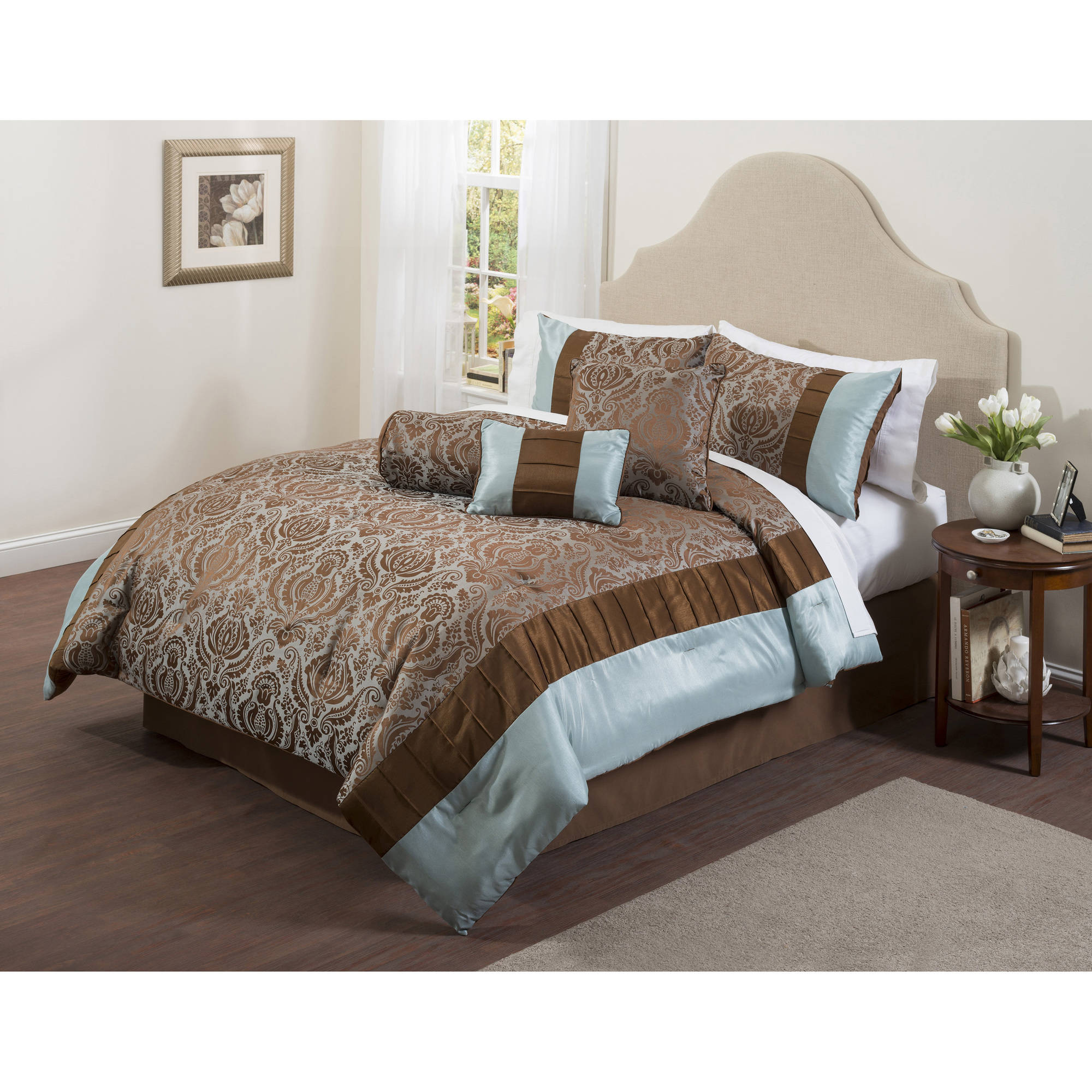 Casa Boylston 7-Piece Bedding Comforter Set