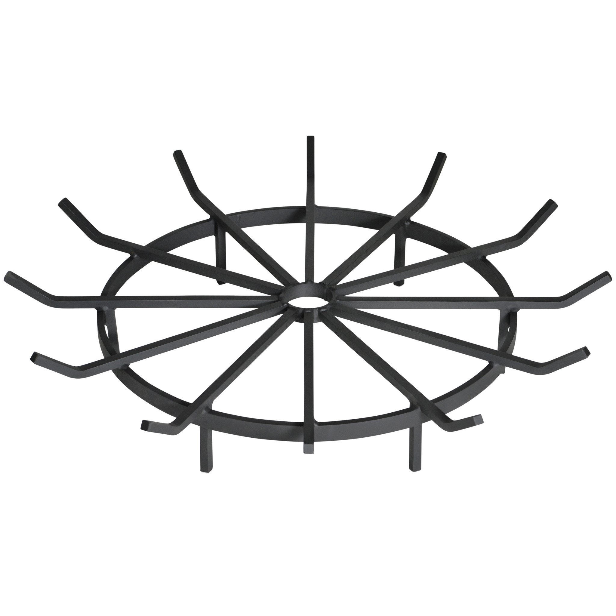 Heritage Products 28 Inch Wagon Wheel Fire Pit Grate - Made in the USA