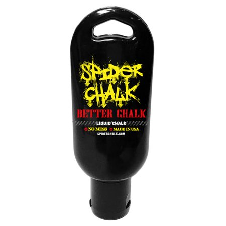 Weightlifting Liquid Chalk Tacky Grip by Spider Chalk - Made in the USA - No Mess, No Dust, For Gymnastics, Rock Climbing, Workout Lifting, Cross Fitness Training, and Tennis, - 1.7oz (Rainbow Liquid Chalk)
