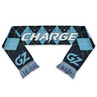 Guangzhou Charge 58'' x 6.5'' Overwatch League Argyle Scarf