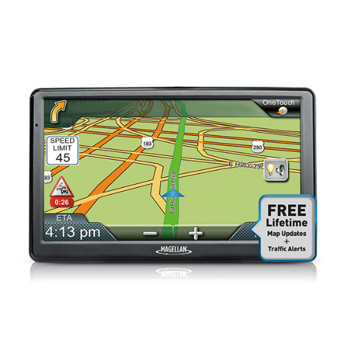 Refurbished Magellan RoadMate RM9612RGLUC 9612T-LM 7 Inch (US, Canada & Puerto Rico) Automotive GPS by Magellan