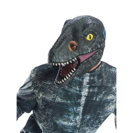 Jurassic World: Fallen Kingdom Velociraptor Adult 3/4 Mask Halloween Costume Accessory