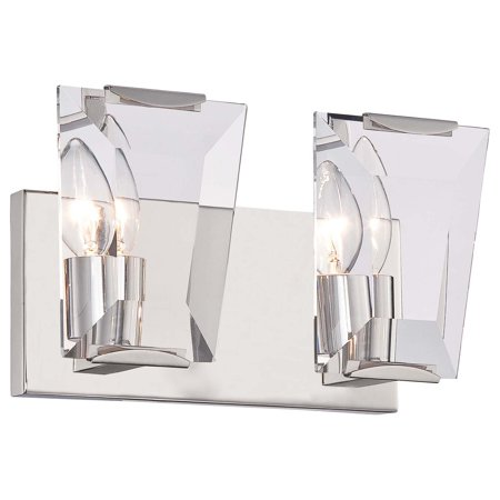 Minka Metropolitan Castle Aurora N2982 2 Light Bathroom Vanity - Minka Castle