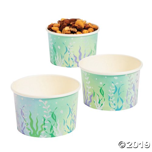 Narwhal Party Paper Snack Cup Walmart Com Walmart Com