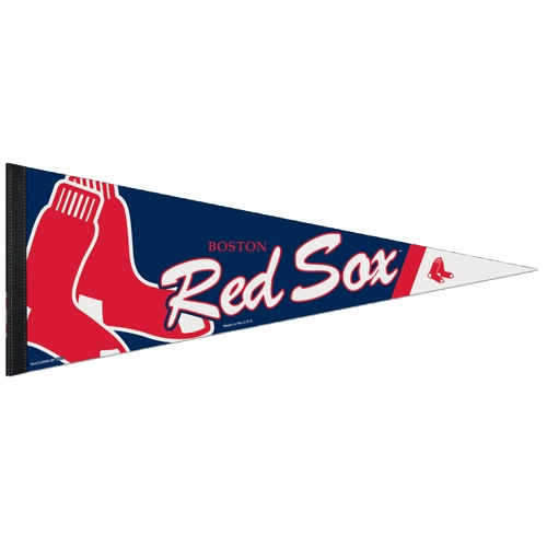 "Boston Red Sox WinCraft 12"" x 30"" Premium Pennant - No Size"
