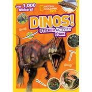 Dinos Sticker Activity Book [With Sticker(s)] (Paperback)