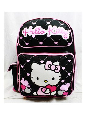 6c36b0a37ca Product Image Backpack - - Glitter Heart Black School Bag 16 New Gifts Toys  83074. Hello Kitty