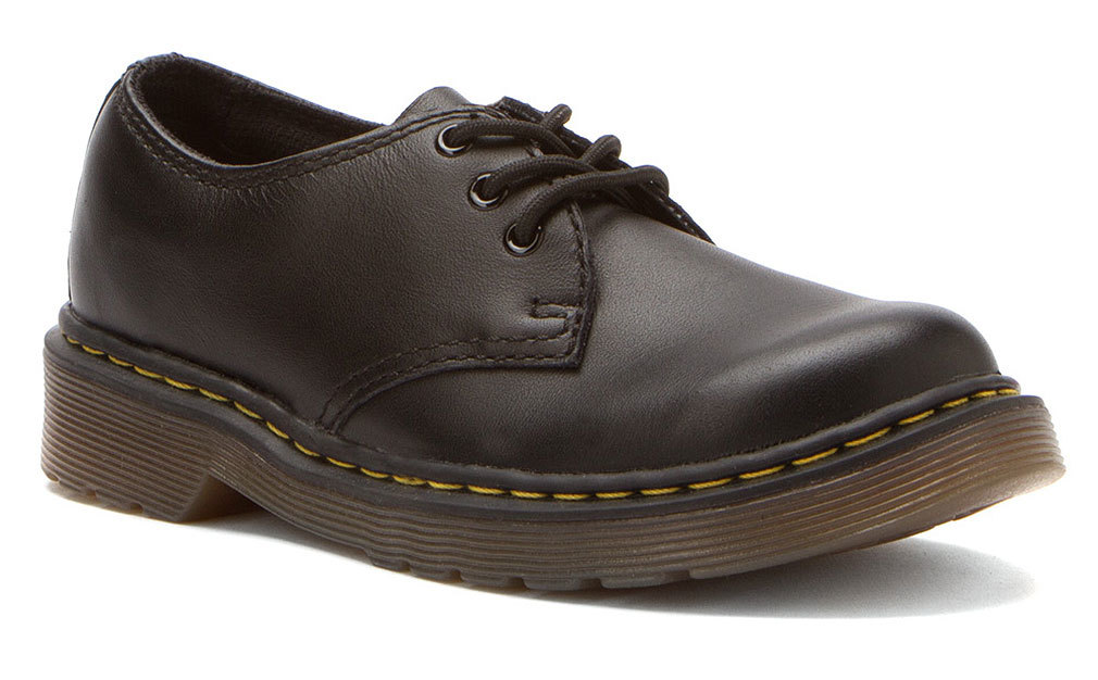 Dr. Martens Boy's EVERLEY Black Oxfords 12 M UK 13 M by DrMartens