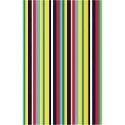 La Rug FT-106 3958 39 in. x 58 in. Fun Time Stripemania Area Rug - Multi Colored