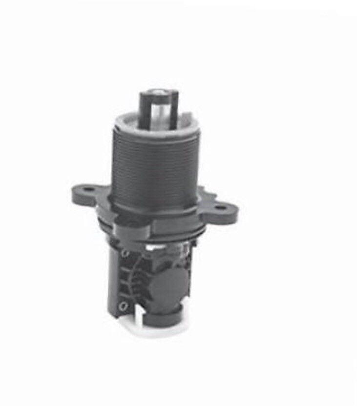 Black 2-Piece Uxcell a14081200ux0291 10mm Thread Stem 1.5-Inch Diameter Wheel Plastic Swivel Caster