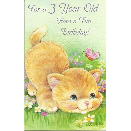 For a 3 Year Old Have a Fun Birthday (AGE6), Cover: For a 3 Year Old Have a Fun Birthday By Magic Moments Ship from