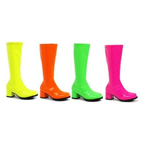 175-DORA-N, 1.75'' Heel Children's Neon Gogo Boots.](Boot Dora)