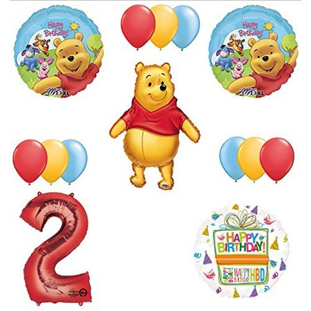 Winnie The Pooh 2nd First Birthday Party Supplies - Winnie The Pooh Party