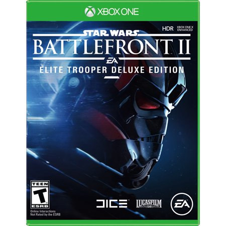 Star Wars Battlefront 2 Elite Trooper Deluxe Edition, Electronic Arts, Xbox One, 014633372304