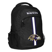 Forever Collectibles NFL Baltimore Ravens  Action Stripe Logo Backpack