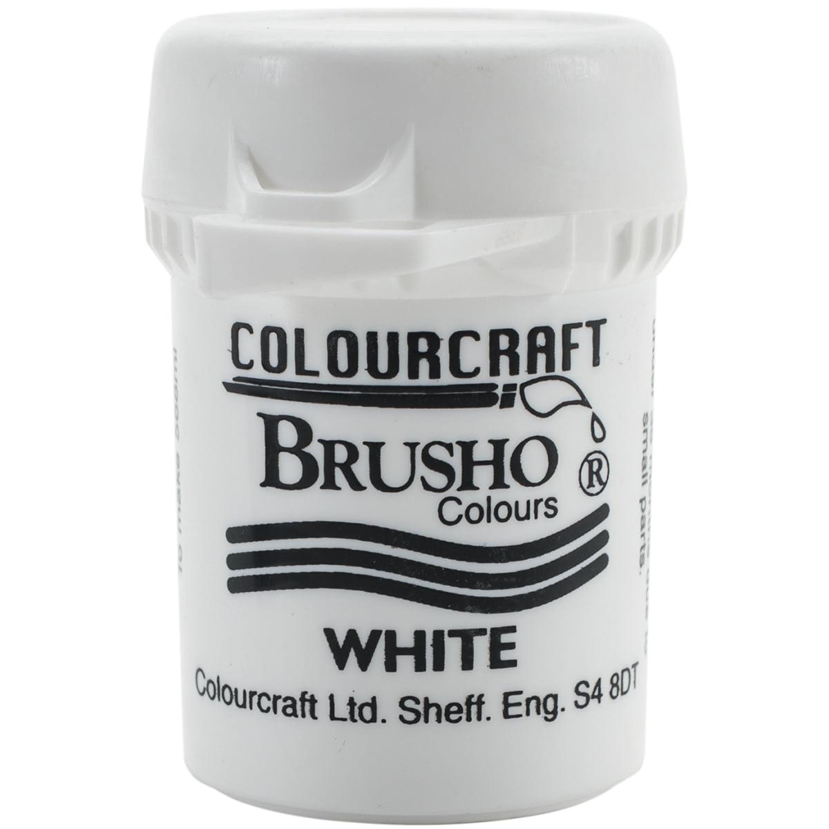 Brusho Crystal Colour 15g-White
