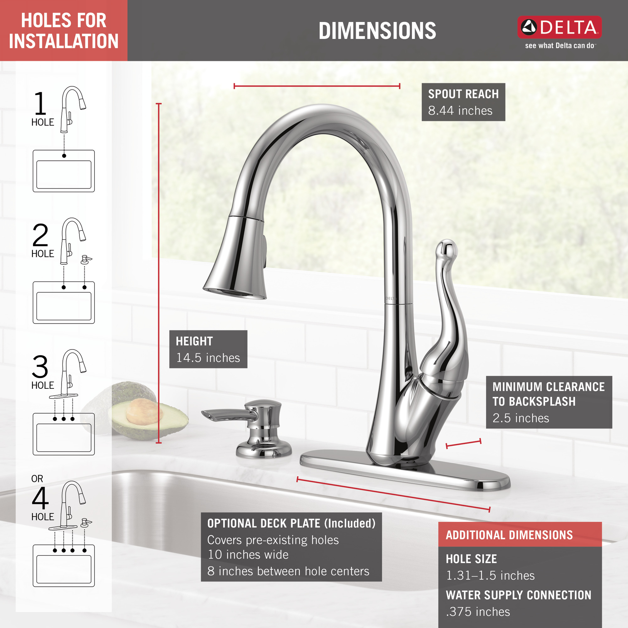 Talbott Single Handle Pull Down Kitchen Faucet With Soap Dispenser In Chrome 16968 Sd Dst Walmart Com Walmart Com