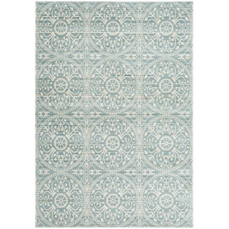 "Safavieh Valencia 2'3"" X 12' Power Loomed Rug in Alpine and Cream - image 1 de 1"