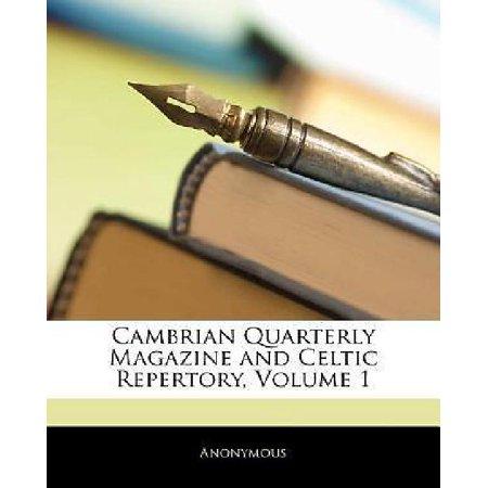 Fr Magazine - Cambrian Quarterly Magazine and Celtic Repertory, Volume 1