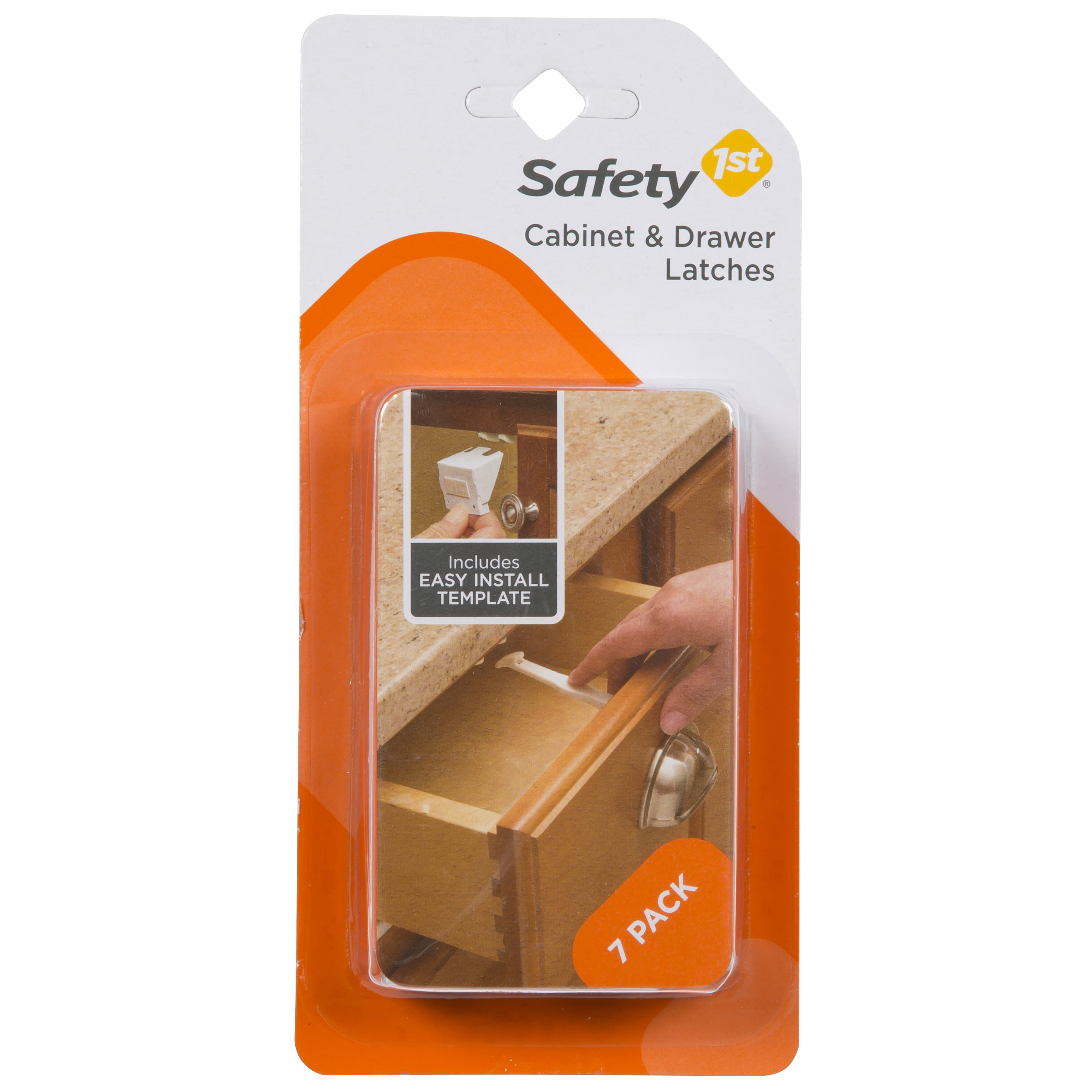Safety 1ˢᵗ Cabinet & Drawer Latch, White