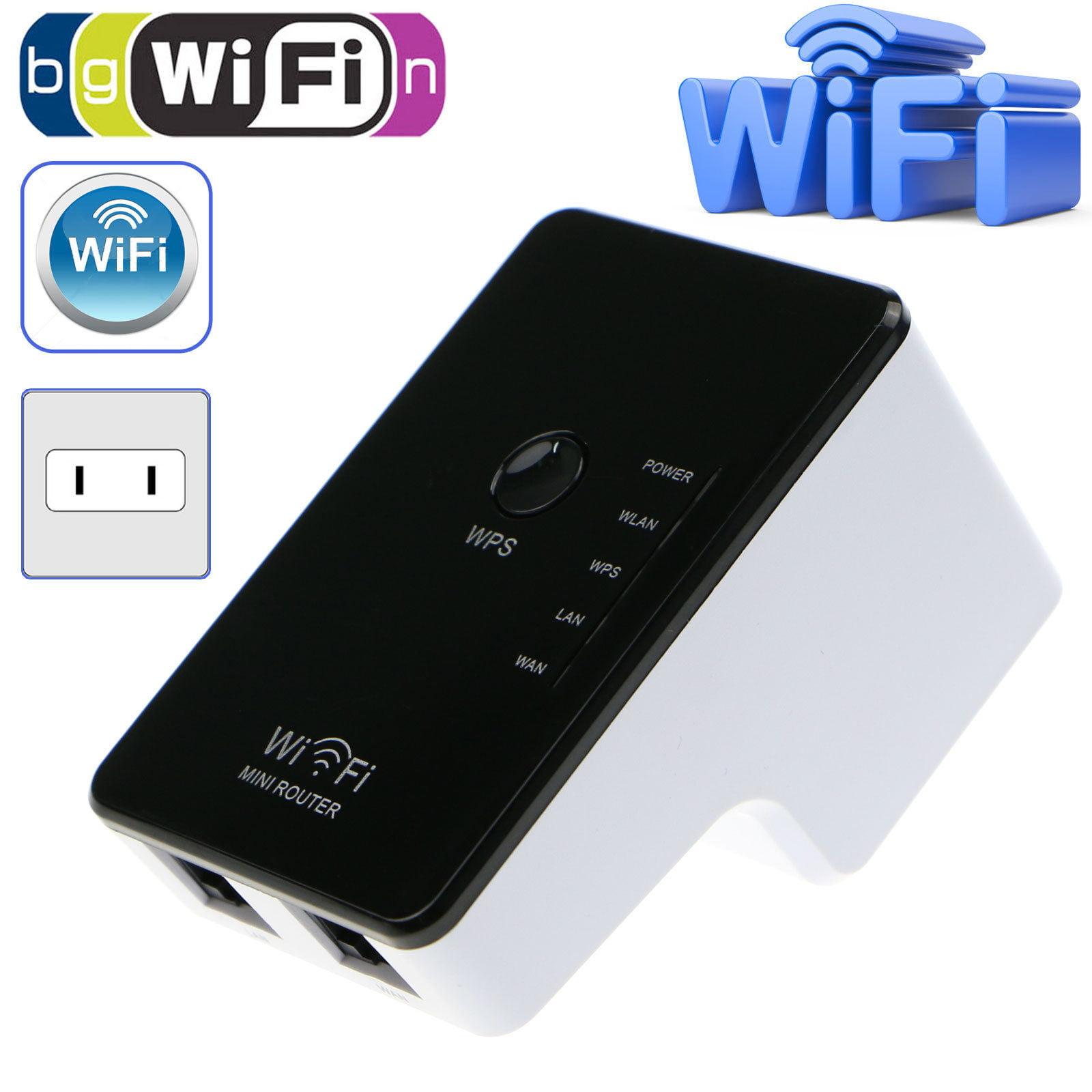 EEEKit 300Mbps Wireless-N Repeater AP Network Router WiFi Signal Range Extender Booster 802.11n g b US Plug by EEEKit