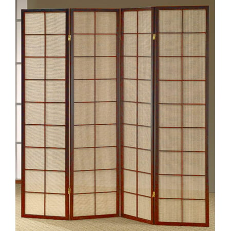 Stupendous 68 In Shoji Room Divider Screen W Cherry Frame Home Interior And Landscaping Analalmasignezvosmurscom