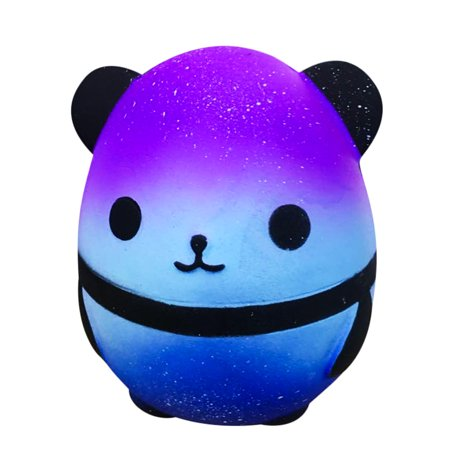 Jumbo Galaxy Panda Squishy Slow Rising Kids Toys Collect Doll Stress Relief Toy