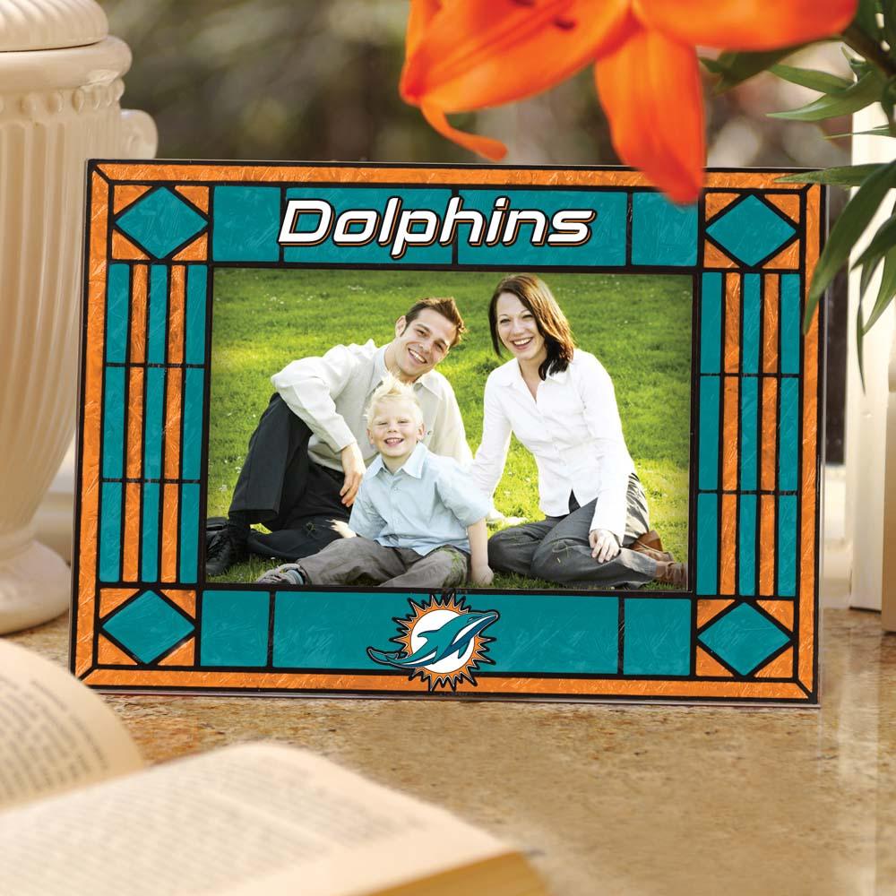 Miami dolphins landscape art glass picture frame walmart jeuxipadfo Image collections