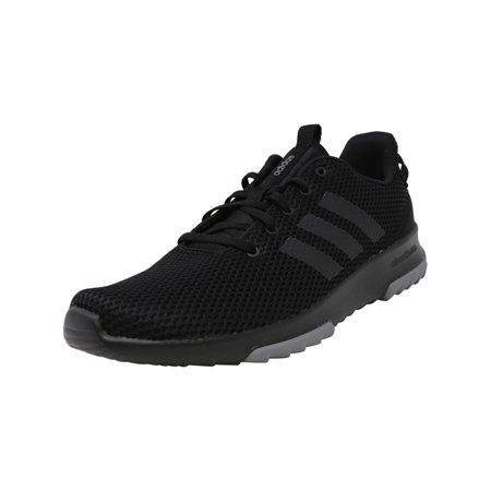 Adidas Men's Cloudfoam Racer Tr Core Black / Grey Ankle-High Running Shoe - (Adidas Mens Wide Response Gt Wrestling Shoe)