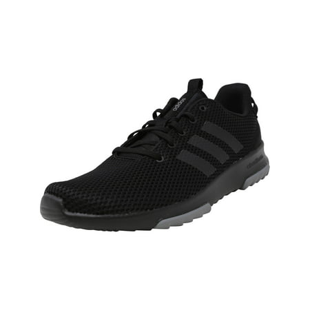 Adidas Men's Cloudfoam Racer Tr Core Black / Grey Ankle-High Running Shoe -