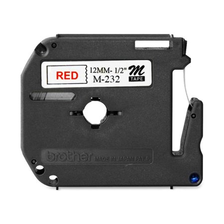 Laminated Tape Thermal Cartridge - Brother P-touch Nonlaminated M Srs Tape Cartridge - 0.50
