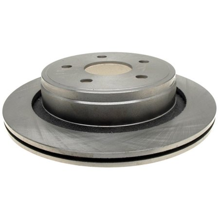 AC Delco 18A1428A Brake Disc, Stock Replacement, Rear Driver Or Passenger - Driver Side Brake Disc
