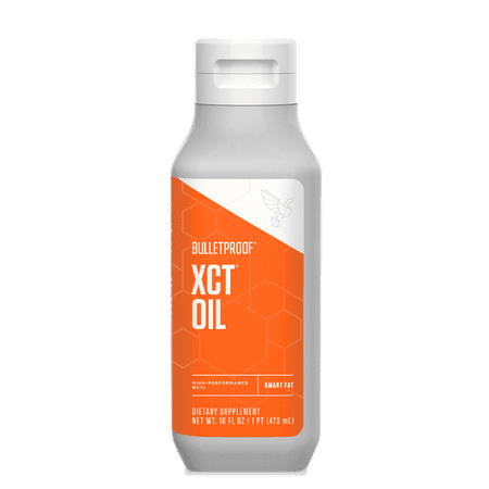 Bulletproof XCT Oil, Perfect for Keto and Paleo Diet, 100% Non-GMO Premium C8 C10 MCT Oil, Ketogenic Friendly, Responsibly Sourced from Coconuts Only, Made in The USA (16 (Best Nuts For Paleo Diet)