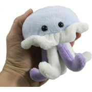 Plush Jellyfish Stuffed Animal Toy - Soft Ocean Aquatic Animal Plushie Stuffie. J is for Jelly Fish