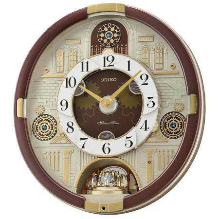 - Seiko Melodies in Motion Clock Clock with Swarovski Crystals