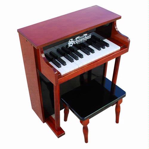 Schoenhut 25-Key Traditional Spinet with Bench