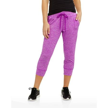 Danskin Now Women's Core Active Jogger Capri - Walmart.com