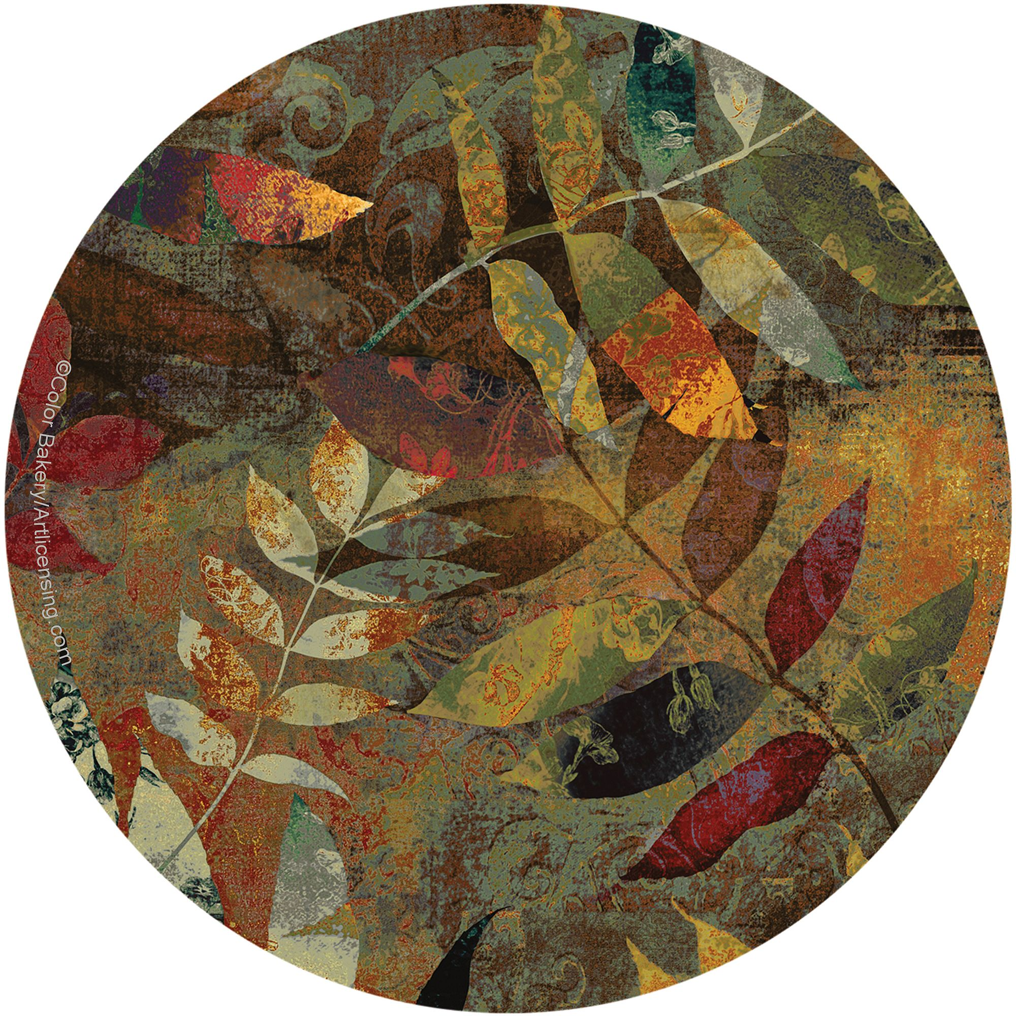 Thirstystone Drink Coasters Set, Autumn Soul II