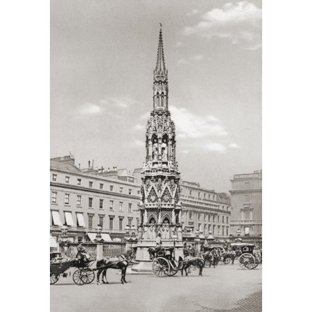 The Eleanor Cross Charing Cross Central London England In The Late 19Th Century From London Historic And Social Published 1902