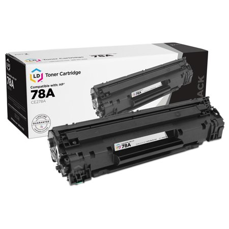 (Remanufactured Black Laser Toner Cartridge for Hewlett Packard HP CE278A - (78A) for the P1606dn)