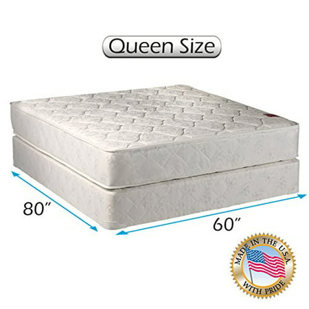legacy gentle firm queen size 60 x80 x8 mattress and box spring set fully assembled good. Black Bedroom Furniture Sets. Home Design Ideas