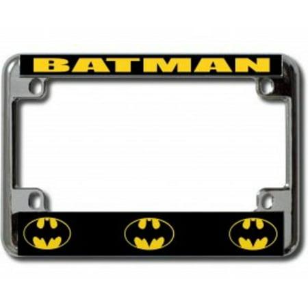 Batman Chrome Motorcycle License Plate -